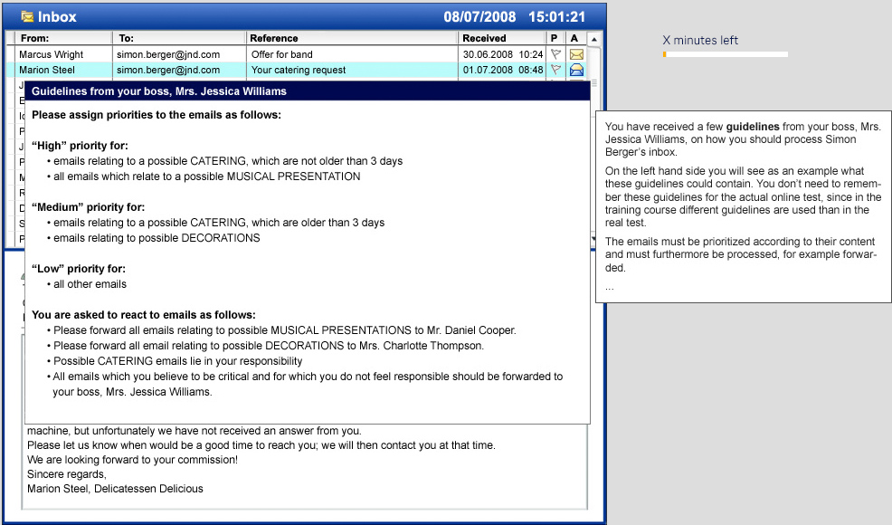 Online Test Demo - Be-Lufthansa